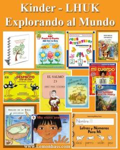 Kinder LHUK Unidad, materiales en español Lemonhass.com