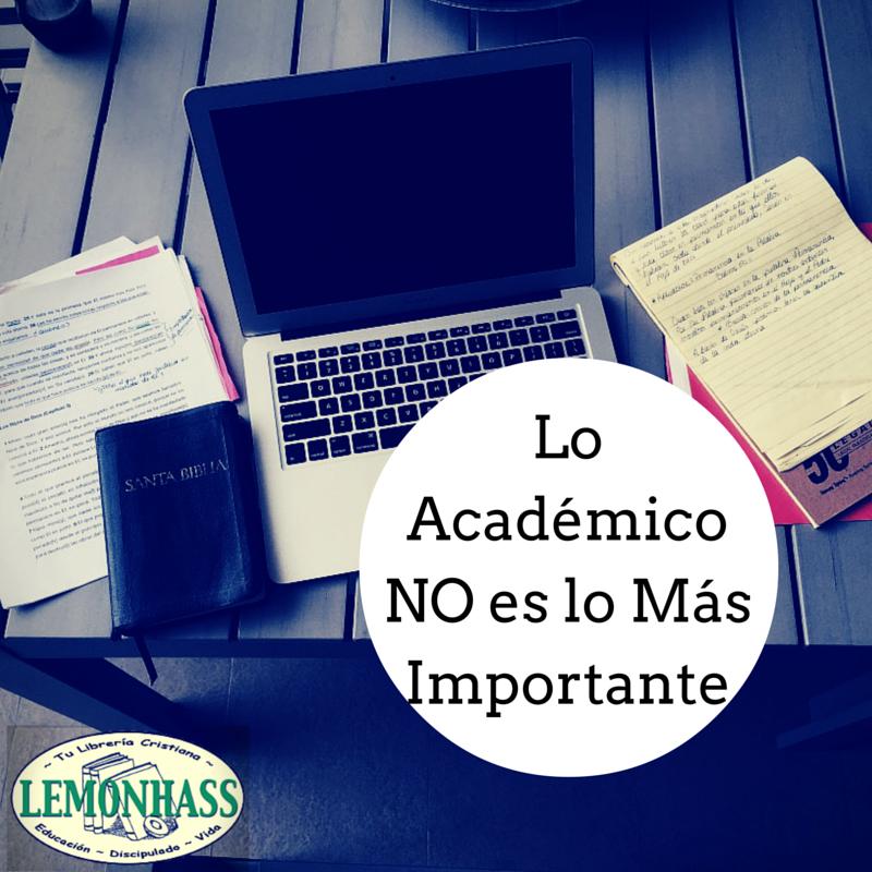 Lo Academico NO es lo Más Importante via Lemonhass.com