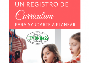 Registro de Curriculum