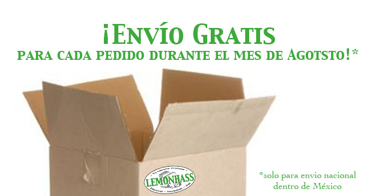 envio gratis durante agosto 2014 www.Lemonhass.com materiales para la educación en casa