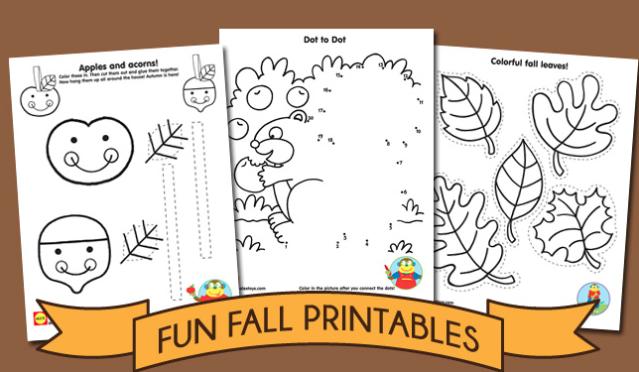 actividades otono preescolares en Lemonhass.com
