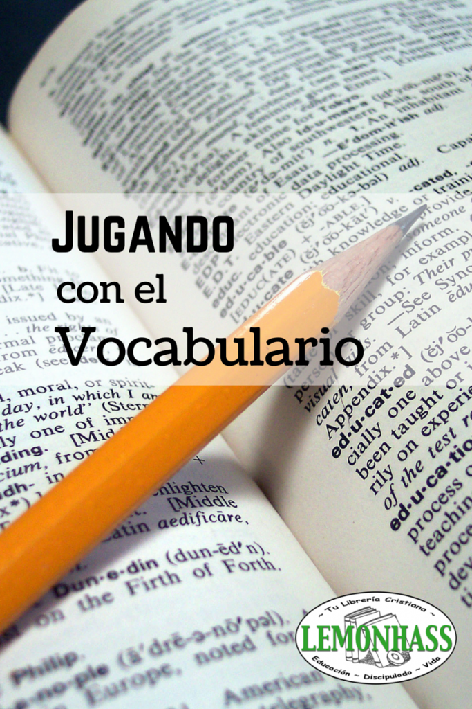 Jugando con el Vocabulario via Lemonhass.com