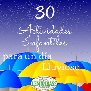 30 Actividades Infantiles para un Día Lluvioso
