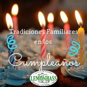 Tradiciones en los Cumpleaños